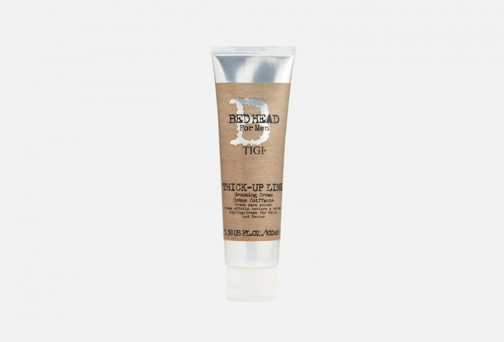 tigi текстурирующий крем для укладки волос блеска и защиты от влаги 50 мл tigi bed head dumb blonde Крем для укладки волос TIGI BED HEAD Thick-up Line Grooming Cream 100 мл