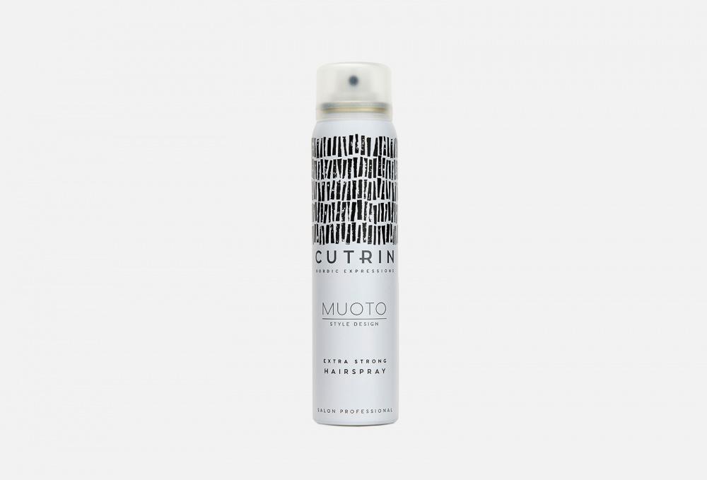 Фото - Лак для волос экстрасильной фиксации CUTRIN Muoto Extra Strong 100 мл лак для волос моментальной фиксации cutrin muoto strong instant 300 мл