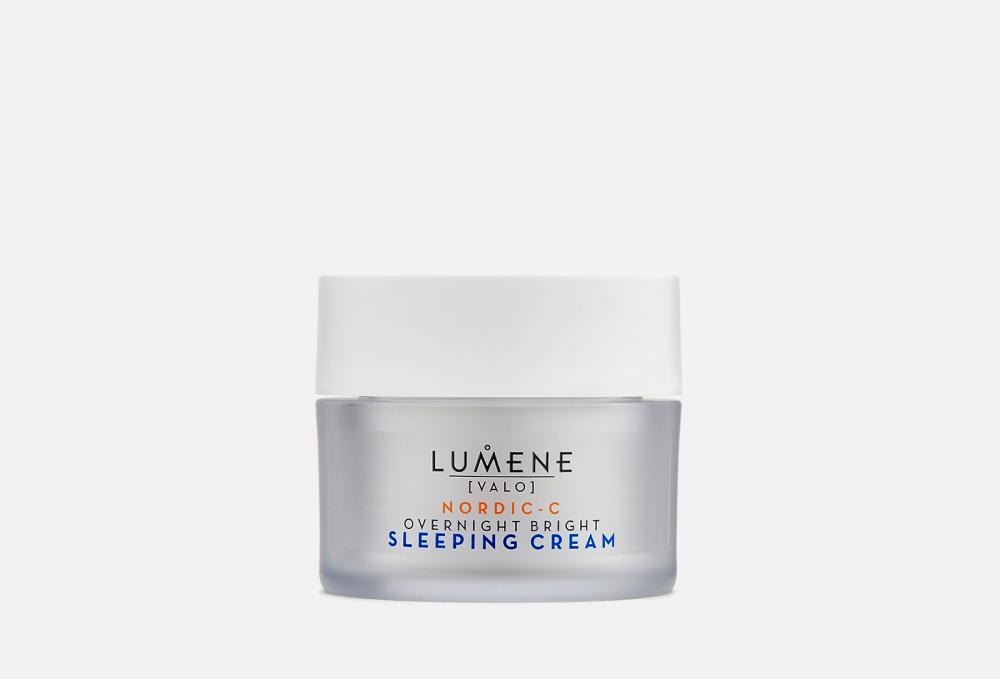 Крем-сон для лица восстанавливающий LUMENE Valo Vitamin C 50 мл lumene valo vitamin с beauty drops