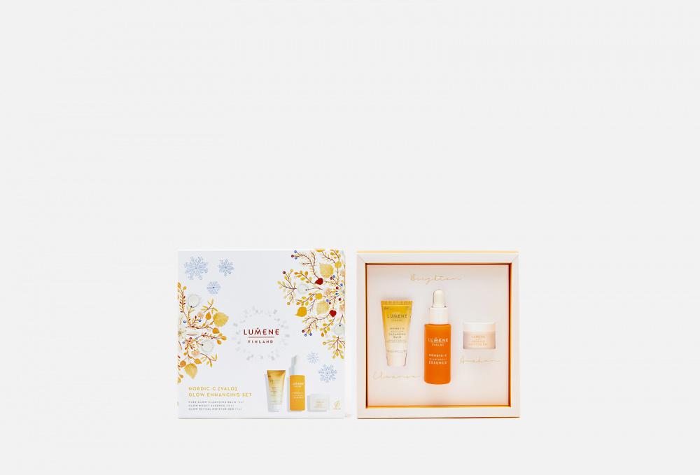 Подарочный набор для сияния кожи LUMENE Nordic-c [valo] Glow Enhancing Set недорого