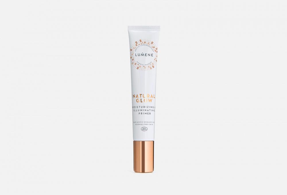 Увлажняющий праймер для макияжа лица, придающий сияние LUMENE Natural Glow Moisturizing Illuminating Primer 20 мл недорого