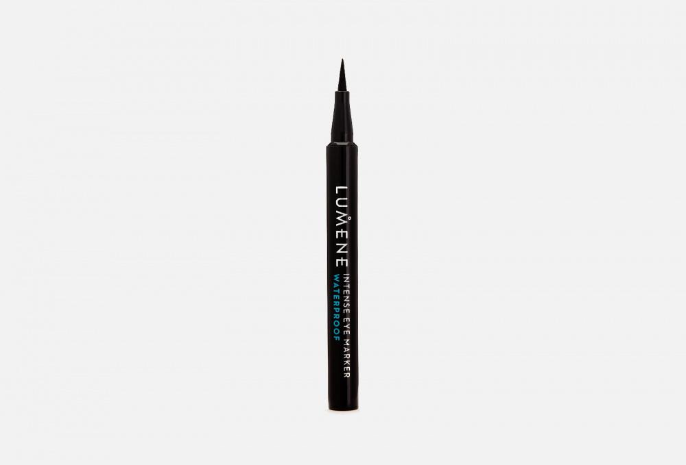 Купить Интенсивный водостойкий маркер для век, LUMENE, Черный