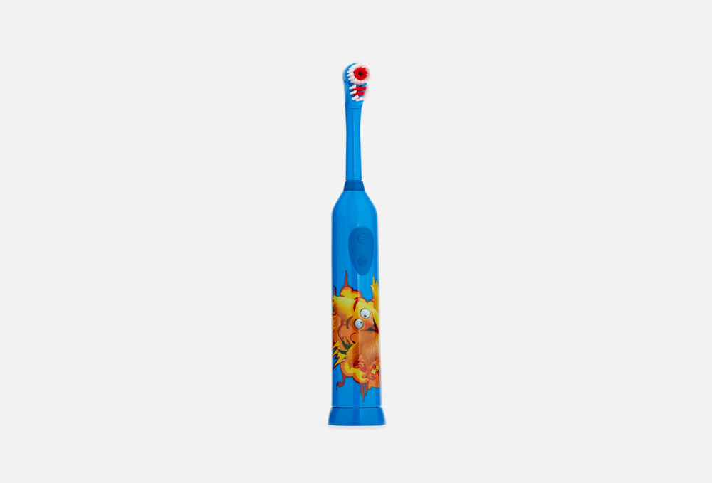 Электрическая зубная щетка для детей 3+ LONGA VITA Angry Birds 1 мл