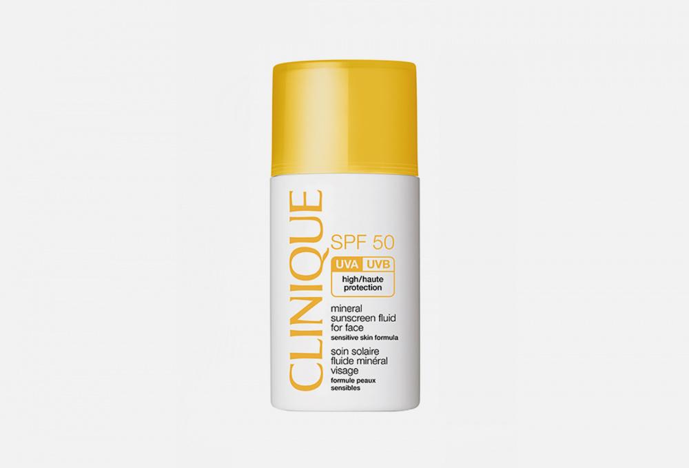 Солнцезащитный минеральный флюид для лица CLINIQUE Mineral Sunscreen Fluid For Face Spf50 30 мл