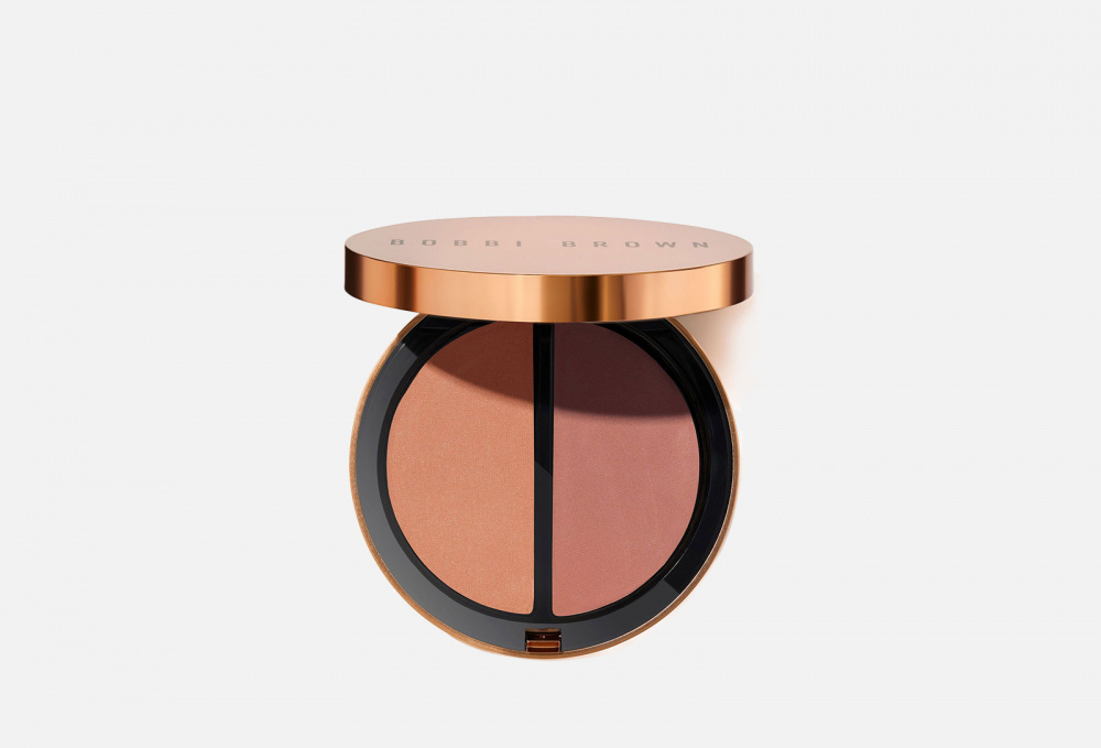 Пудра-хайлайтер BOBBI BROWN Bronzing Powder Duo 8 мл bobbi brown highlighting powder