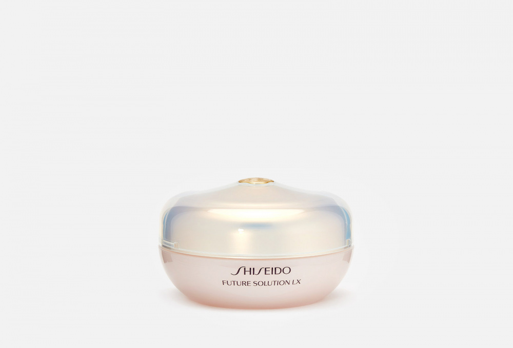 Рассыпчатая пудра с эффектом сияния SHISEIDO Future Solution Lx Total Radiance Loose Powder 10 мл shiseido future solution lx e total radiance loose powder