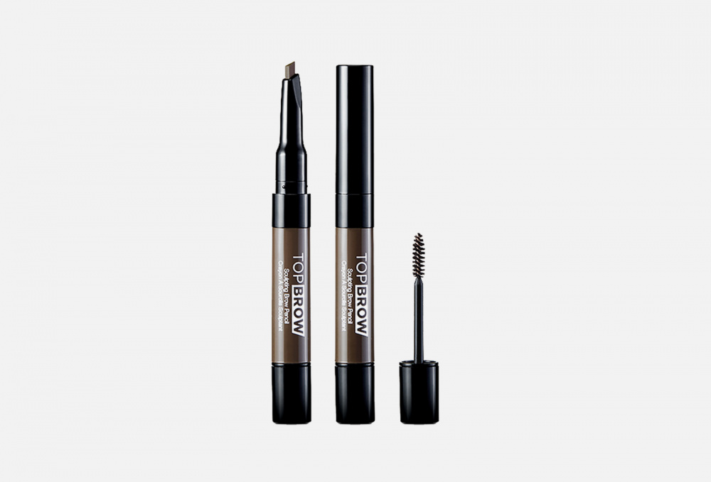 Скульптурирующий карандаш и тушь для бровей KISS NEW YORK PROFESSIONAL Top Brow 0.22 мл