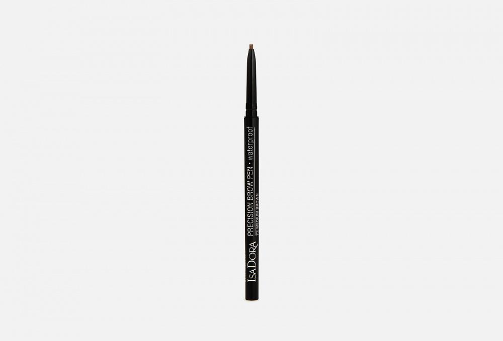 Водостойкий карандаш для бровей ISADORA Precision Brow Pen Waterproof 0.09 мл isadora карандаш eye brow lifter highlighting pen для бровей 1 шт