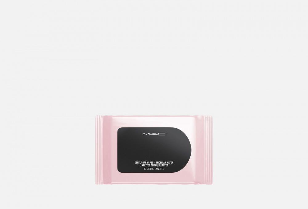 Салфетки мицеллярные для снятия макияжа MAC Gently Off Wipes + Micellar Water 30 мл