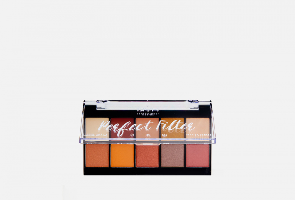 ПАЛЕТКА ТЕНЕЙ NYXPROFESSIONAL MAKEUP Perfect Filter Shadow Palette 1.77 мл