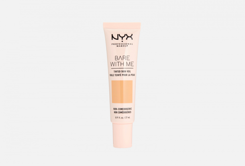 Тональная основа-вуаль для лица NYX PROFESSIONAL MAKEUP Bare With Me Tinted Skin Veil 27 мл