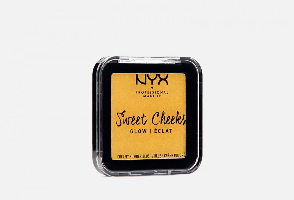 Купить Сияющие прессованные румяна для лица, NYXPROFESSIONAL MAKEUP, Желтый