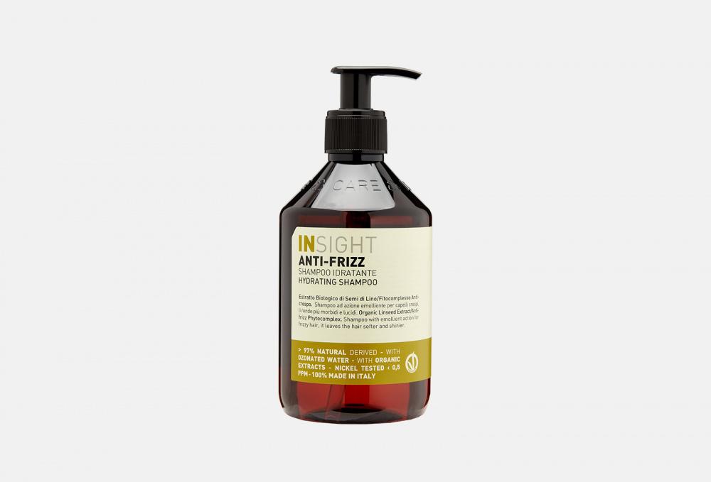Шампунь для дисциплины непослушных и вьющихся волос INSIGHT PROFESSIONAL Anti-frizz Hydrating Shampoo 400 мл шампунь для дисциплины непослушных и вьющихся волос insight professional anti frizz hydrating shampoo travel size 100 мл