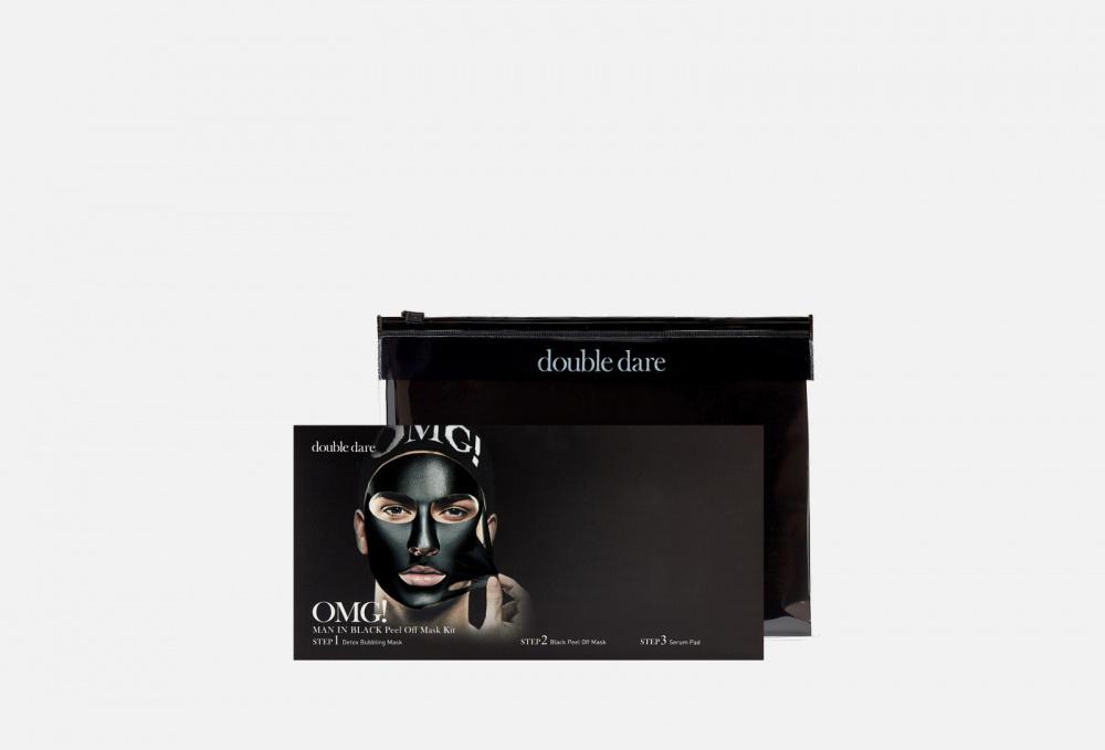 Купить Комплекс мужских масок трехкомпонентный Смягчение и восстановление 5 штук, DOUBLE DARE OMG!