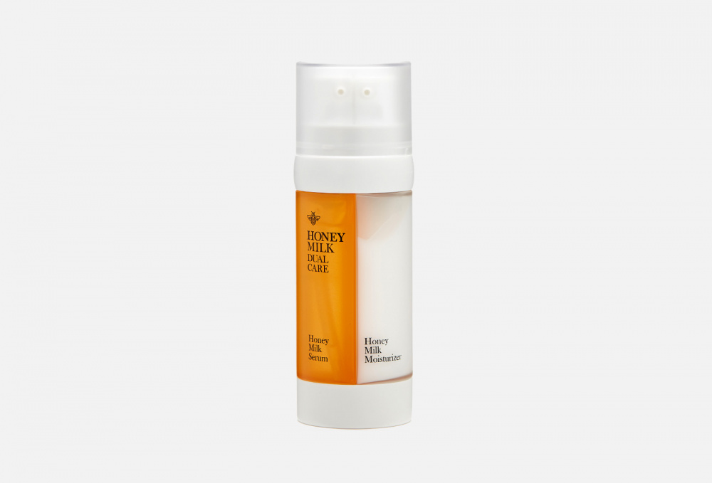 Купить Медовая сыворотка и увлажняющий молочный крем для кожи лица 2в1, DOUBLE DARE OMG!