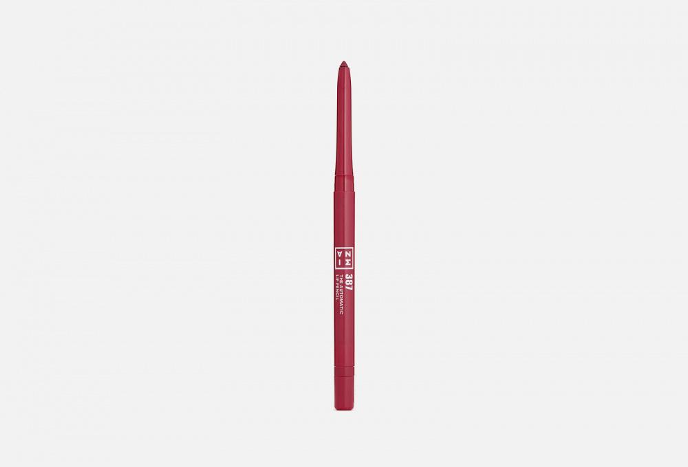 Автоматический водостойкий карандаш для губ 3INA The Automatic Lip Pencil 0.26 мл 3ina the automatic eye pencil карандаш для глаз оттенок 307