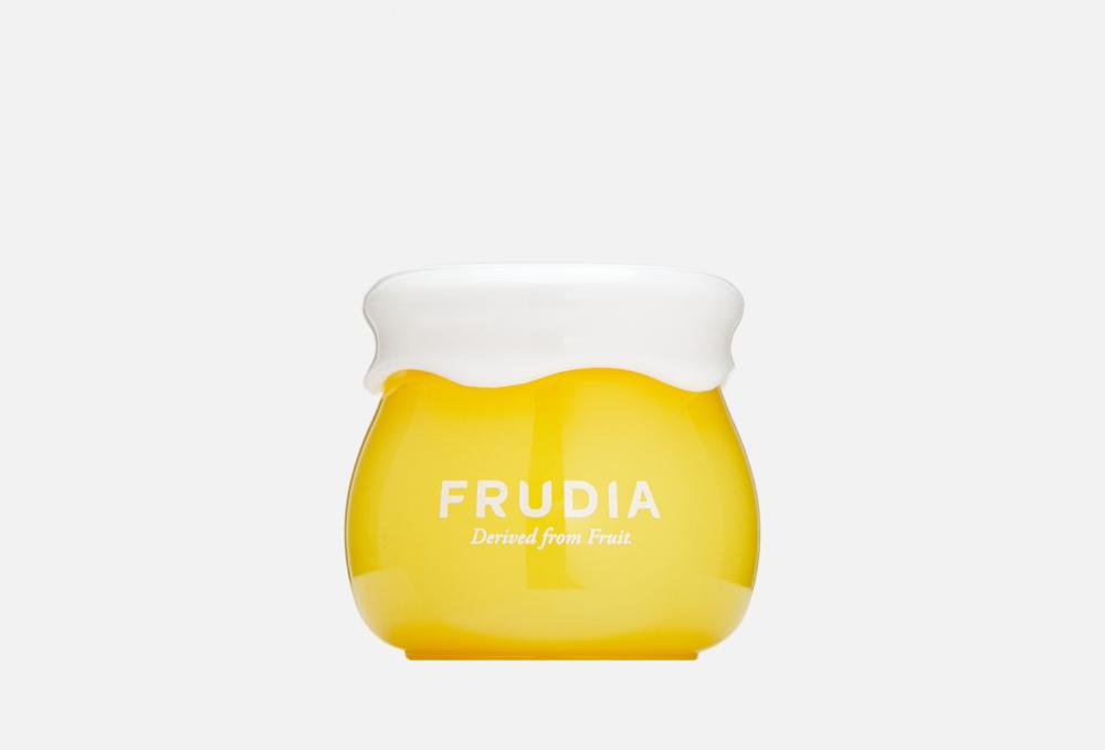 Крем с цитрусом, придающий сияние коже FRUDIA Citrus Brightening Cream Mini 10 мл frudia микропенка citrus brightening micro cleansing foam для умывания с цитрусом 145г