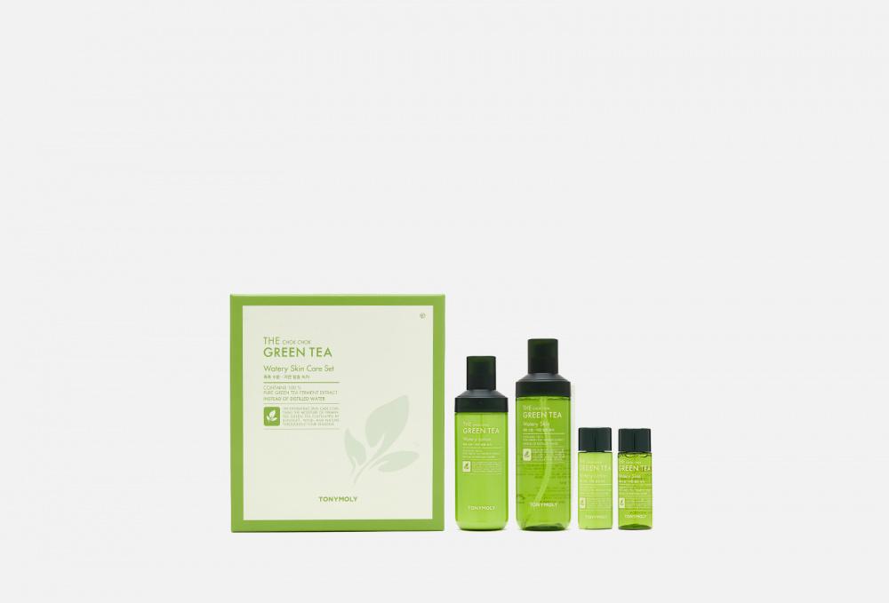 Набор TONY MOLY The Chok Chok Green Tea Watery Skin Care Set недорого