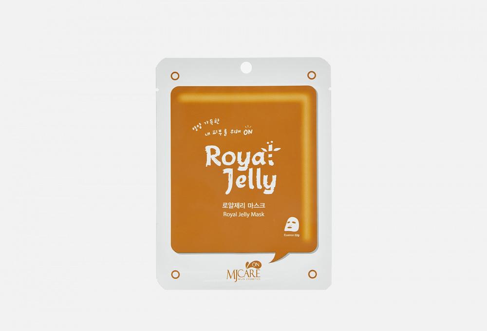Маска тканевая с маточным молоком MIJIN CARE Royal Jelly 1 мл
