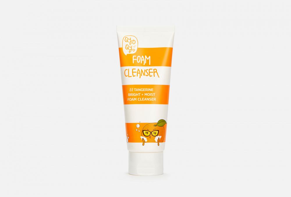 Мандариновая очищающая пенка для лица QYOQYO Tangerine Bright + Moist Foam Cleanser 100 мл