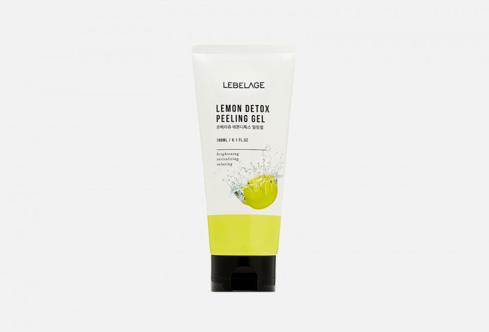 Отшелушивающий гель с экстрактом лимона LEBELAGE Lemon Detox Peeling Gel 180 мл недорого