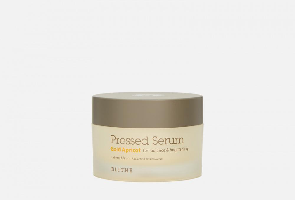 Спрессованная сыворотка-крем для сияния BLITHE Pressed Serum Gold Apricot For Radiance And Brightening 50 мл недорого
