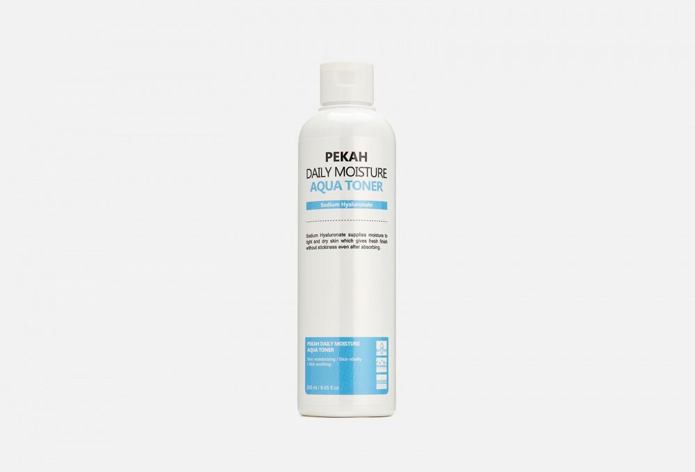 Освежающий тонер PEKAH Daily Moisture Aqua Toner 250 мл pekah тонер с экстрактом гамамелиса daily moisture witch hazel 250 мл