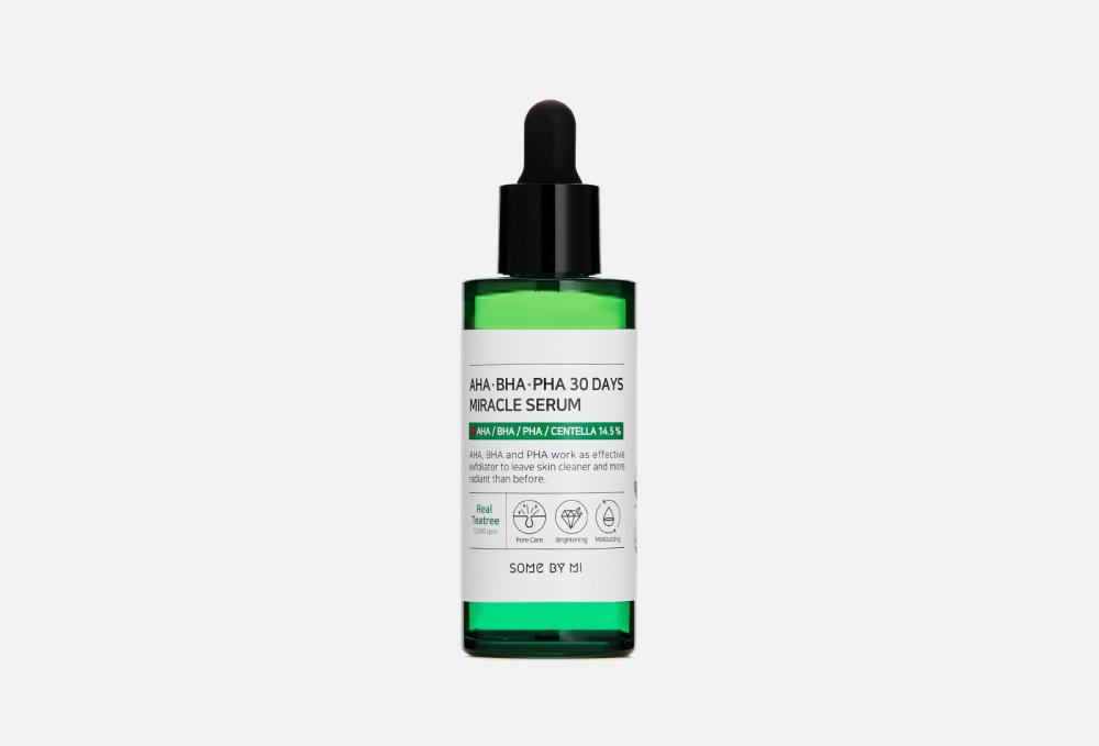 Сыворотка с AHA/BHA/PHA кислотами для проблемной кожи SOME BY MI Aha-bha-pha 30 Days Miracle Serum 50 мл