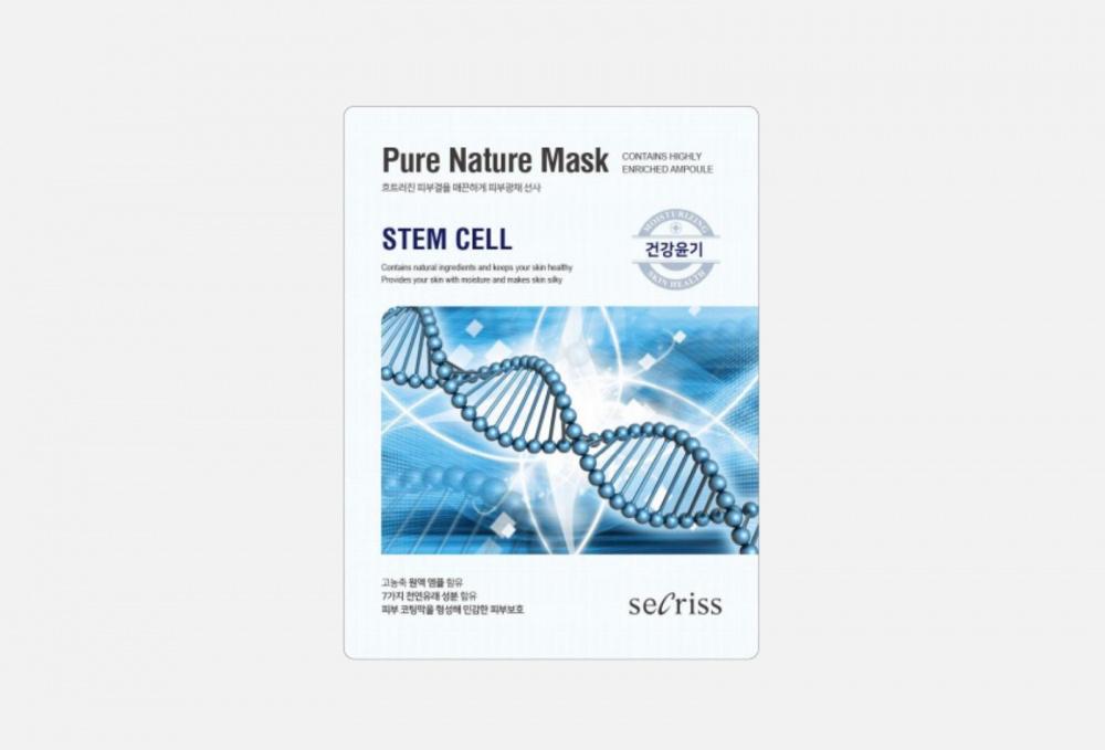 Маска для лица тканевая ANSKIN Secriss Pure Nature Stem Cell 1 мл