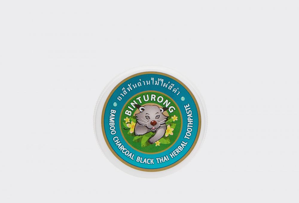 Зубная паста с бамбуковым углем BINTURONG Bamboo Charcoal Black Thai Herbal Toothpaste 33 мл