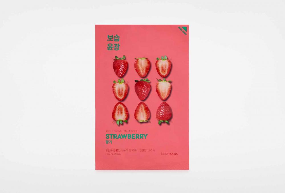 Фото - Маска для лица тканевая HOLIKA HOLIKA Pure Essence 20 мл holika holika pure essence acai berry витаминизирующая тканевая маска ягоды асаи 20 мл