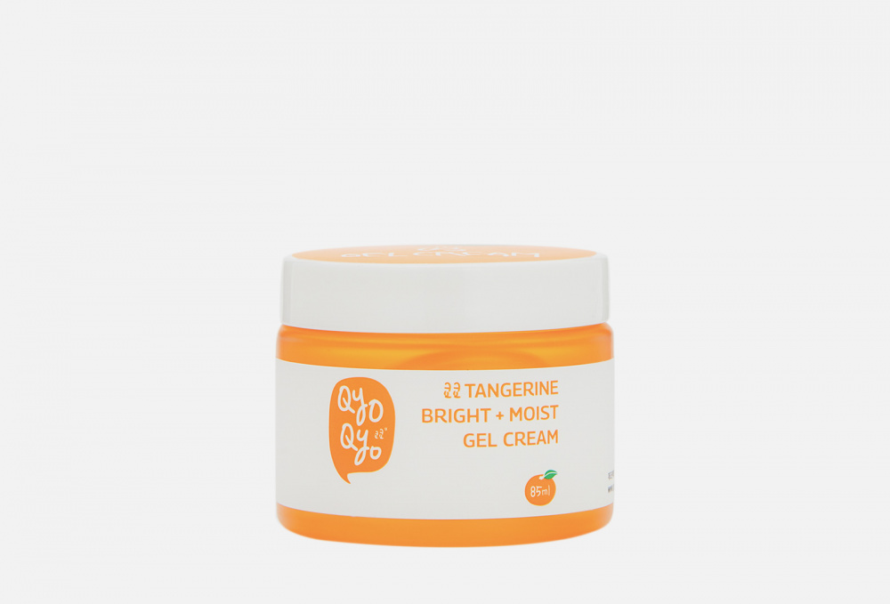 Мандариновый гель-крем для лица QYOQYO Tangerine Bright+moist Gel Cream 90 мл