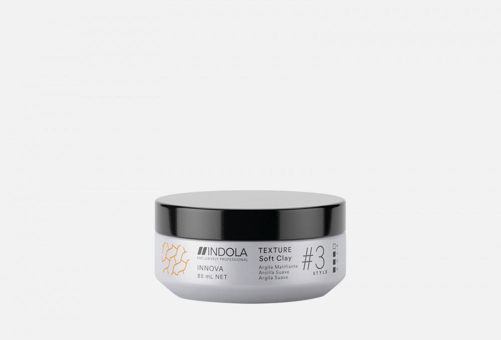 Глина для волос INDOLA Texture Soft Clay Innova Style # 3 Hold 85 мл