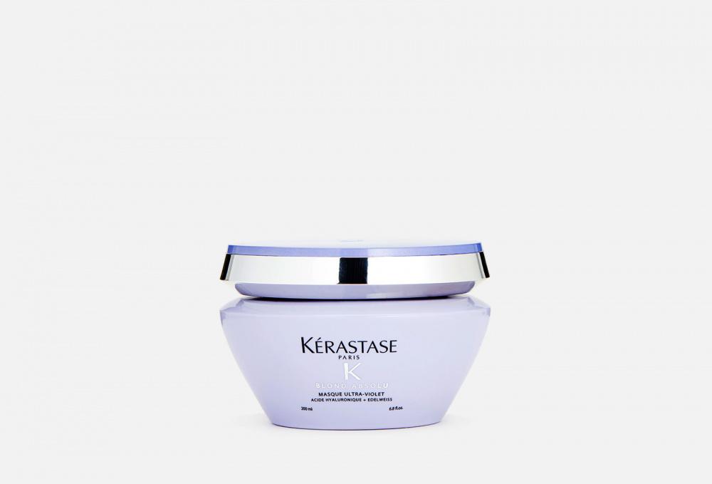 Питательная маска с фиолетовым пигментом KERASTASE Blond Absolu Ultra-violet 200 мл kerastase ultra violet маска 200 мл