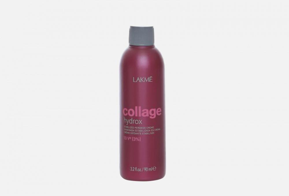 Фото - Крем-окислитель стабилизированный LAKME Collage Hydrox Stabilized Peroxide Crème 10vol (3%) 90 мл lakme collage hydrox крем окислитель 3% 1000 мл