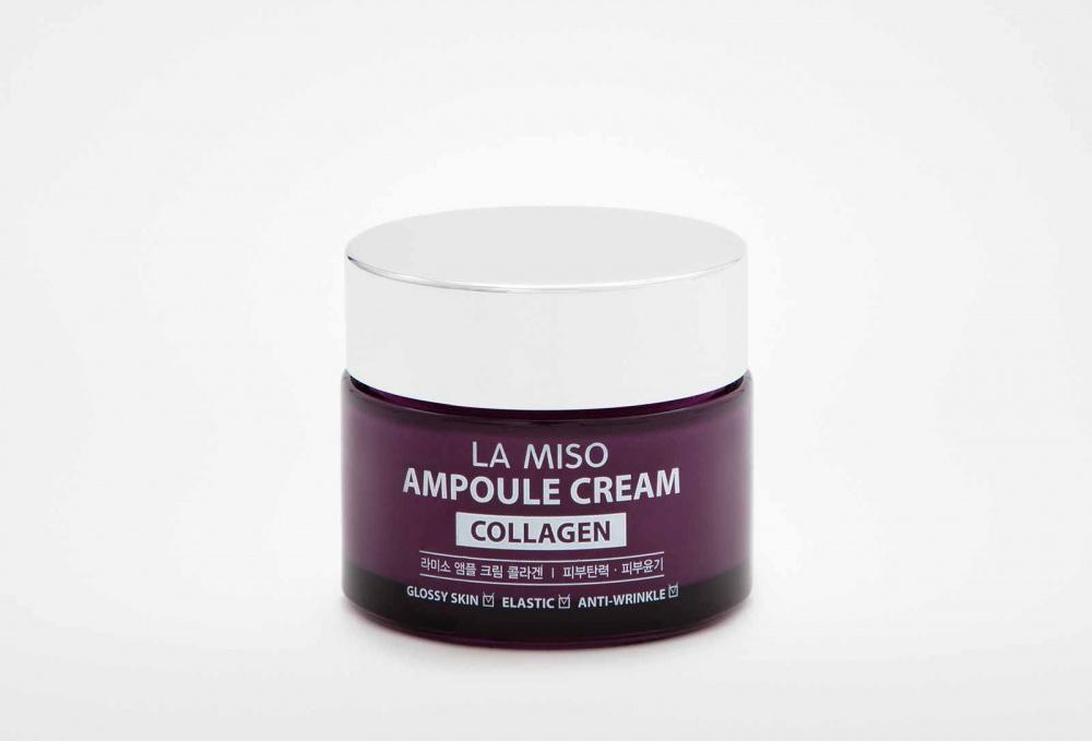 Крем ампульный LA MISO Ampoule Cream Collagen 50 мл la miso ampoule cream hyaluronic крем для лица с гиалуроновой кислотой 50 г