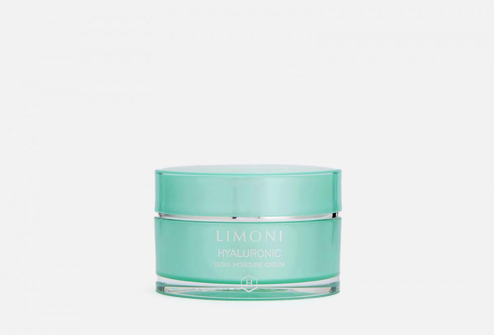 Ультраувлажняющий крем для лица с гиалуроновой кислотой - LIMONI Hyaluronic Ultra Moisture Cream 50 мл