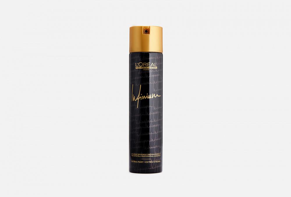 Фото - Лак для волос ультра сильной фиксации L'OREAL PROFESSIONNEL Infinium Extra-fort 300 мл лак для укладки волос loreal professionnel infinium crystal extra strong 300 мл экстра сил фикс