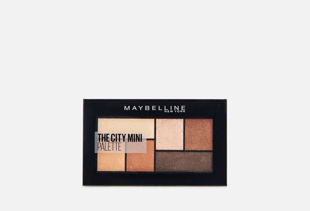 Палетка теней для глаз MAYBELLINE NEW YORK The City Mini 6 мл