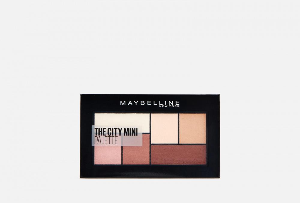 Палетка теней для глаз MAYBELLINE NEW YORK The City Mini 6 мл