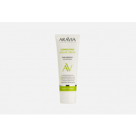 Крем с азелаиновой кислотой  Aravia Laboratories Azelaic Correcting Cream — купить в интернет-магазине «Золотое яблоко»