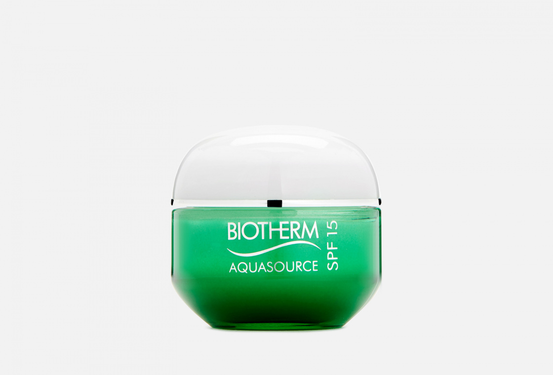 Ультра-легкий крем для лица для нормальной и комбинированной кожи SPF15 Biotherm AQUASOURCE