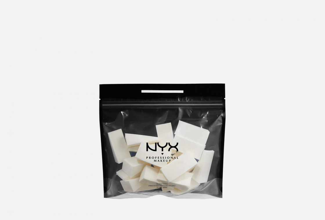 Мини-спонж  NYX PROFESSIONAL MAKEUP PRO BEAUTY WEDGES
