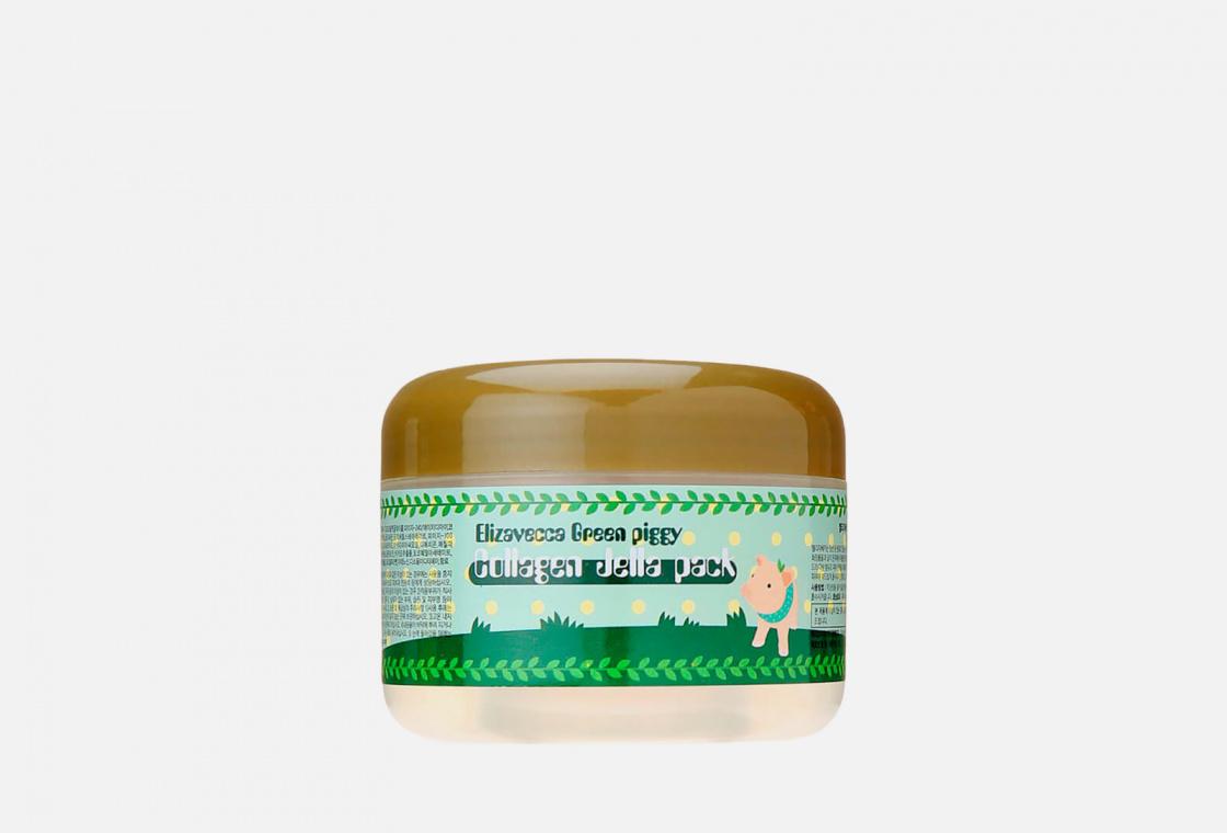 Маска для лица коллагеновая  Elizavecca Green piggy Collagen Jella Packgy