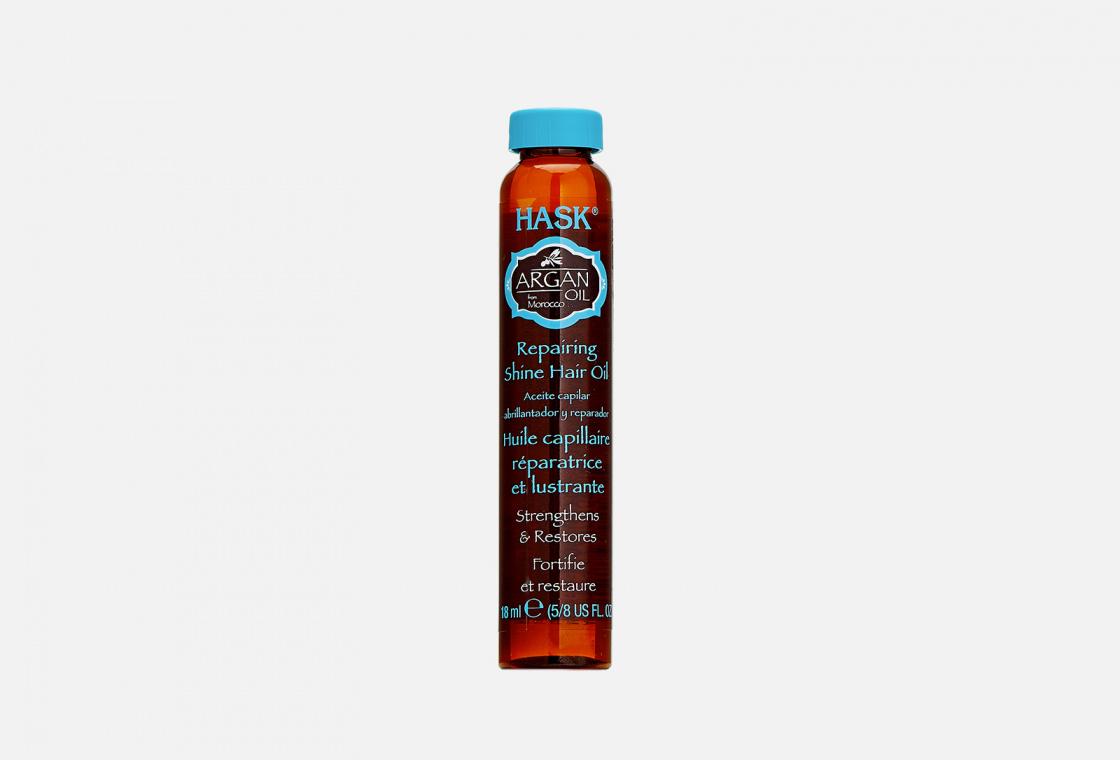 Масло для восстановления и придания блеска волосам с экстрактом Арганы Hask Argan Oil