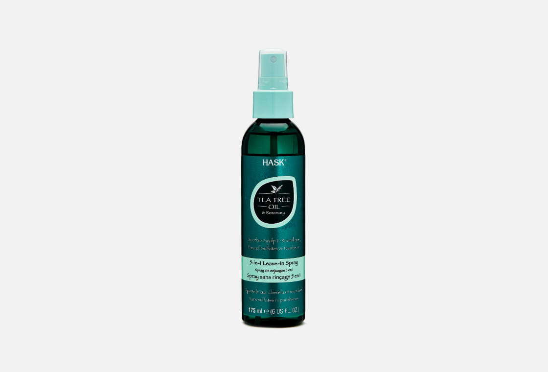 Спрей несмываемый 5в1 Hask Tea Tree Oil & Rosemary