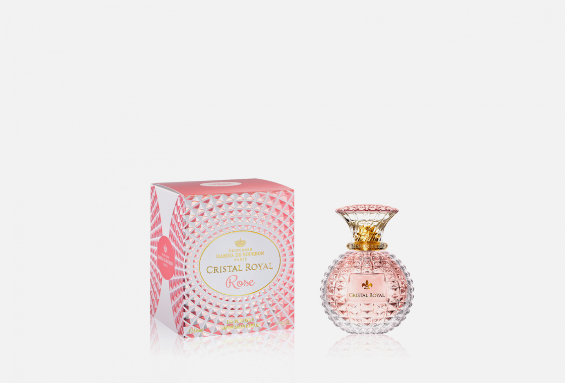 Парфюмерная вода Marina de Bourbon Cristal Royal Rose