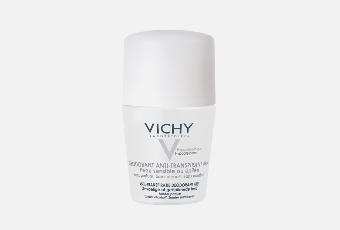 Шариковый дезодорант для чувствительной кожи  VICHY 48h