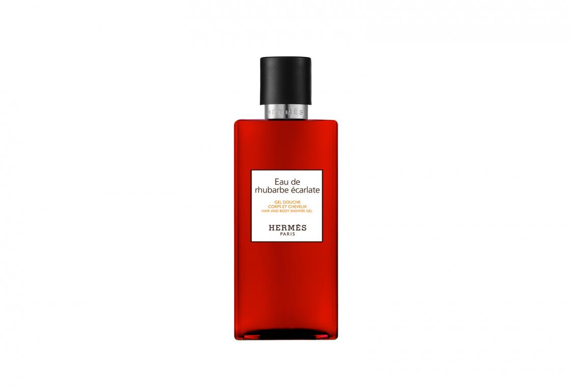 Шампунь для тела и волос HERMÈS Eau de rhubarbe écarlate