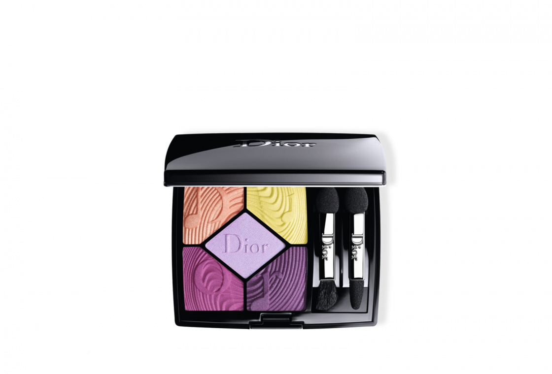 Тени для век Dior 5 Couleurs Glow Vibes Spring Look 2020